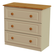 Annagh Ivory 3 Deep Drawer Chest