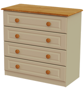 Annagh Ivory 4 Drawer Med Chest