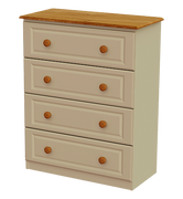 Annagh Ivory 4 Deep Drawer Chest