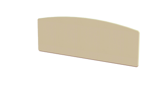 Annagh Ivory 5' Slab Headboard