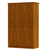 Pippy Oak Triple Wardrobe