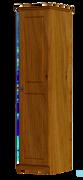 Pippy Oak 1 Door 1 Shelf Wardrobe