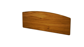 Pippy Oak 4'6 Slab Headboard