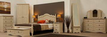 Rococo 4' Bed