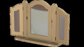 Rococo Triple Ornate Mirror