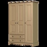 Rococo 3 Door 2 Drawer Wardrobe