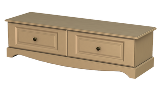 Rococo 1+1 Deep Drawer Bed End Chest
