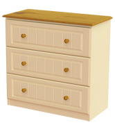 Erris 3 Deep Drawer Chest