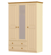 Erris 3 Door 2 Drawer 1 Mirror Wardrobe