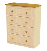 Erris 4 Deep Drawer Chest