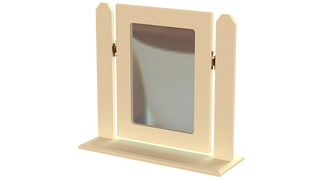 Erris Single Square Mirror