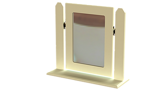Liffey Single Square Mirror