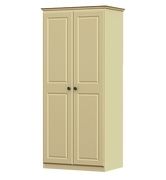Liffey 2 Door 1 Shelf Wardrobe