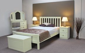 Liffey 4' Bed