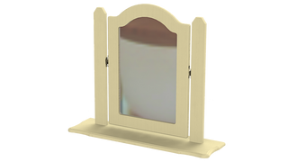Capri Single Ornate Mirror