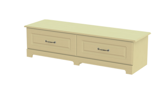 Capri 1+1 Deep Drawer Bed End Chest