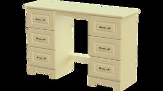 Capri 6 Drawer Dressing Table