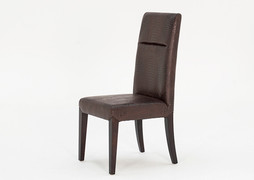 Accorso Dining Chair-Brown