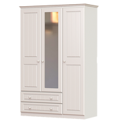 Grennan 3 Door 2 Drawer 1 Mirror Wardrobe