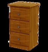Pippy Oak 3 Deep Drawer Locker