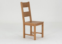 Breeze Dining Chair-Solid Seat