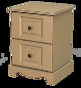 Rococo 2 Deep Drawer Locker