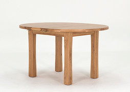 Breeze Round Dining Table-(107/140 cm )