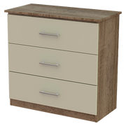 Iona 3 Deep Drawer Chest