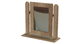 Tuskar Single Square Mirror