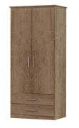 Tuskar 2 Door 2 Drawer Wardrobe