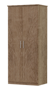 Tuskar 2 Door 1 Shelf Wardrobe