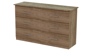 Tuskar 3+3 Deep Drawer Long Chest