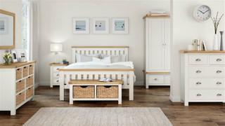 Suffolk Oak Slatted 6'  Bed