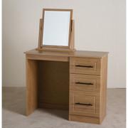 Mya Oak Vanity Dresser