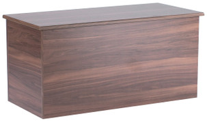Noche Walnut Blanket Box