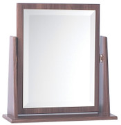 Noche Walnut Single Mirror