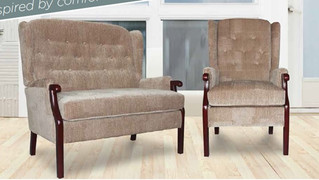 Elegant and classy with a fabric upholstered finish, the Cashel is a classic design that can work in a contemporary setting