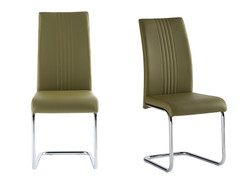 Monaco Dining Chair-Olive Green