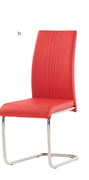 Monaco Dining Chair-Red