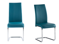 Monaco Dining Chair-Teal