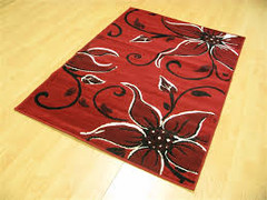 Palace Collection-Red/Black ( 115 x 165 cm )