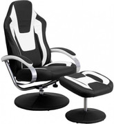 Sonic Gaming Chair & Foot Stool