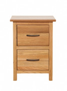 Rome 2 Drawer Bedside Locker