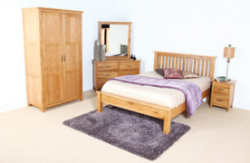 Rome 5' Bed