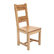 Portland wooden seat chair