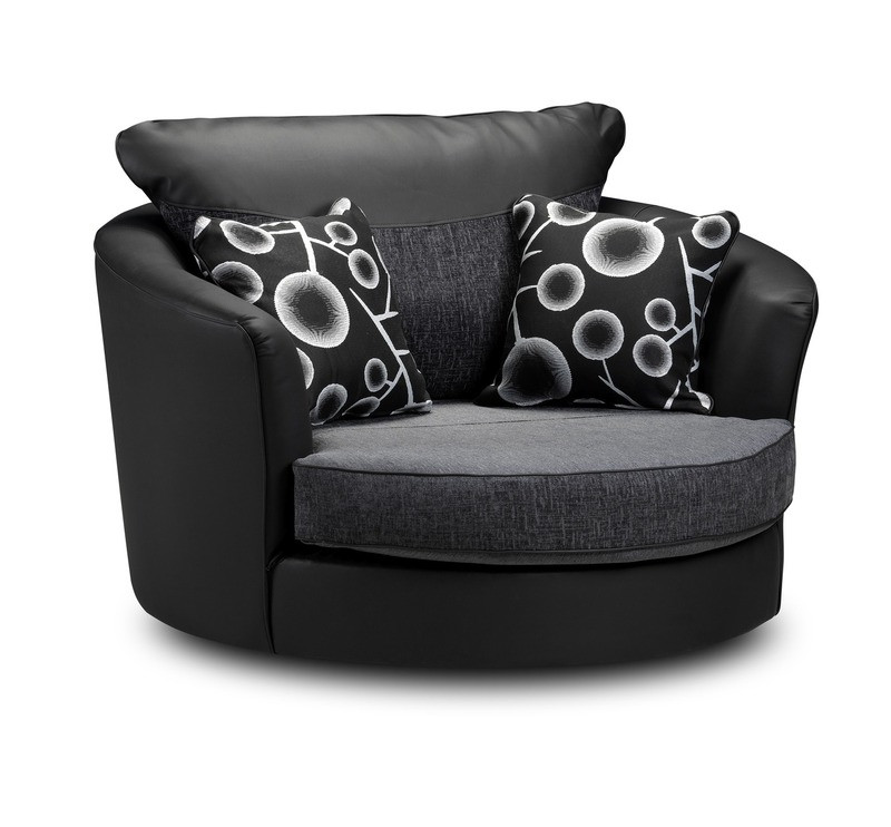 Shannon Swivel Armchair Ideal Furniture