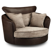 Dakota Swivel Armchair