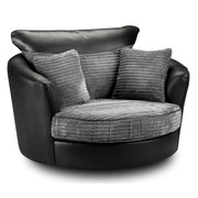 Bryon Swivel Armchair