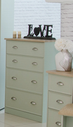Heritage Sage Deep Chest-4 Drawer