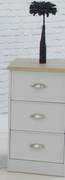 Heritage Grey Locker-3 Drawer